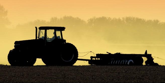 Traktorbilde til Landbrukside