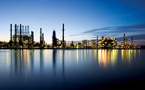 Chevron's Raffineri i Mississippi.