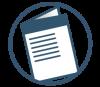 Brosjyre ikon